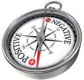 positive-negative compass